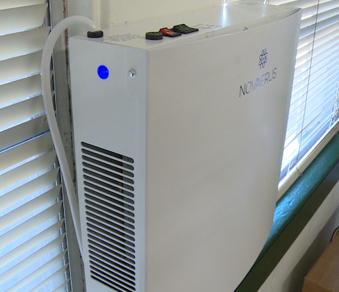 Hays CISD is asking for $4.1 million to invest in air purifiers to make air cleaner in district facilities. (KXAN Photo/Jala Washington)
