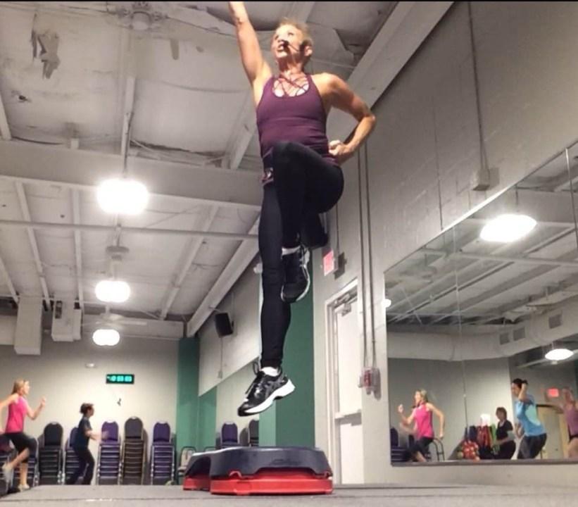 Terian Szymczak teaching a fitness class. (Courtesy Terian Szymczak)