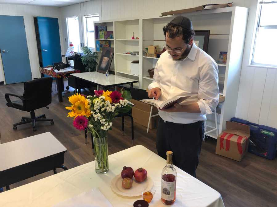 Some local leaders in the Jewish community in Austin are preparing to celebrate Rosh Hashanah virtually amid the pandemic. (KXAN Photo/Frank Martinez)