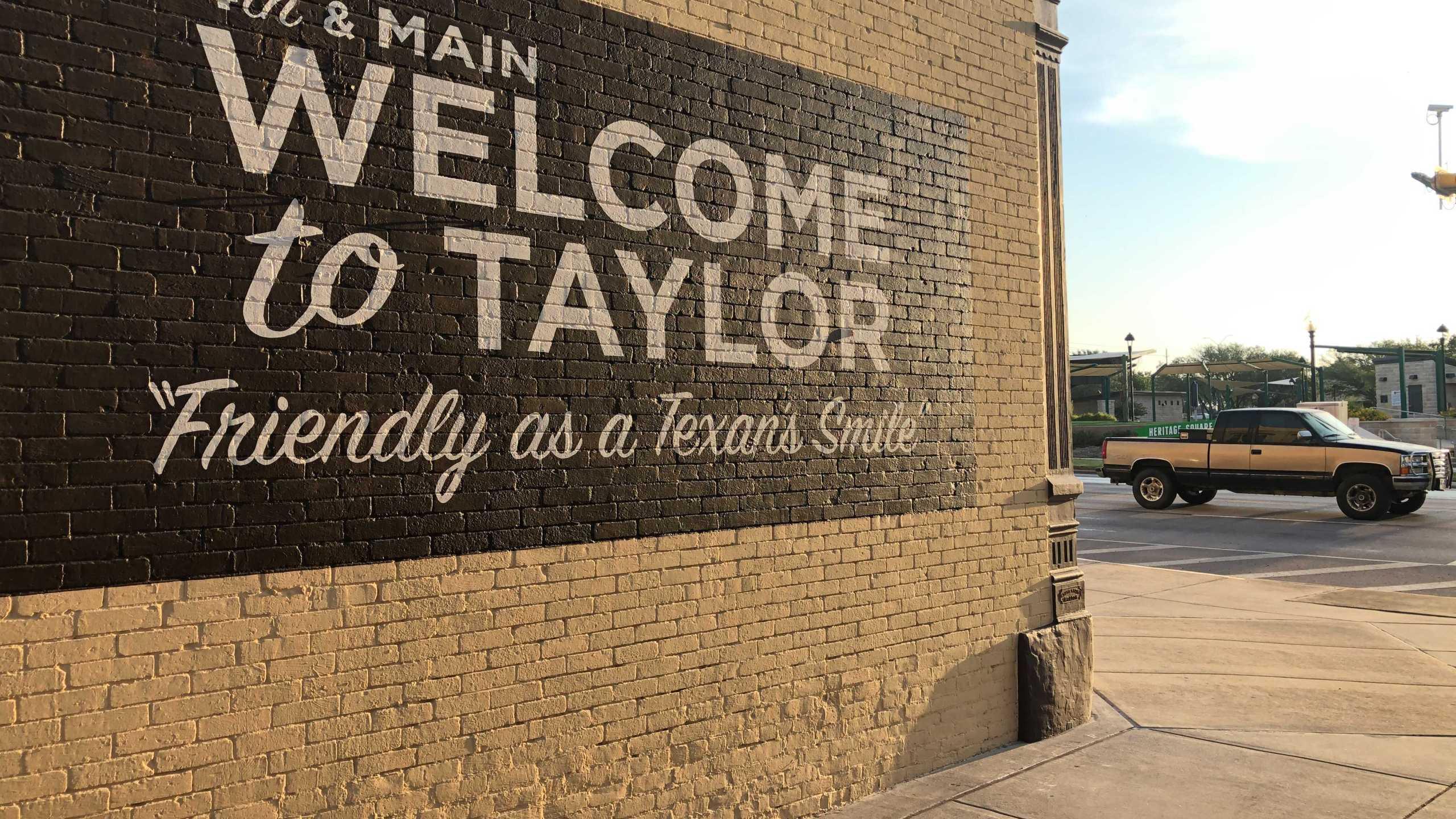 Downtown Taylor (KXAN photo/Julie Karam)
