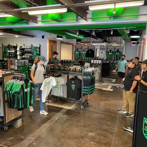 Austin FC Verde Store on Congress