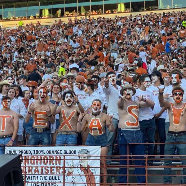 Texas Longhorns gameday: Texas hellraisers