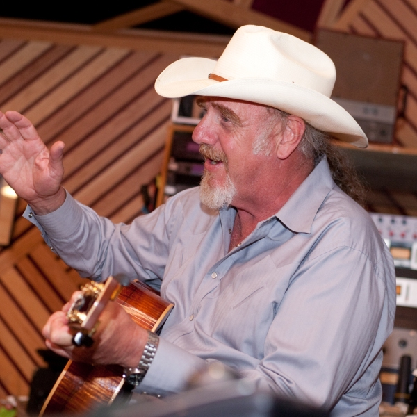 Ray Benson is one of several local artists who've performed a Swan Songs Serenade in support of Austin's healthcare workers. (Courtesy: Swan Songs)