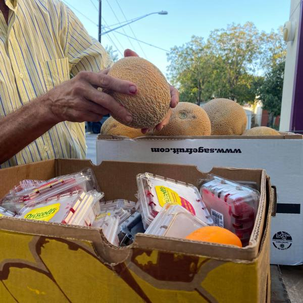 Save the Food Austin works to distribute unbought food from grocery stores to families who need it. (KXAN Photo/Kaitlyn Karmout)