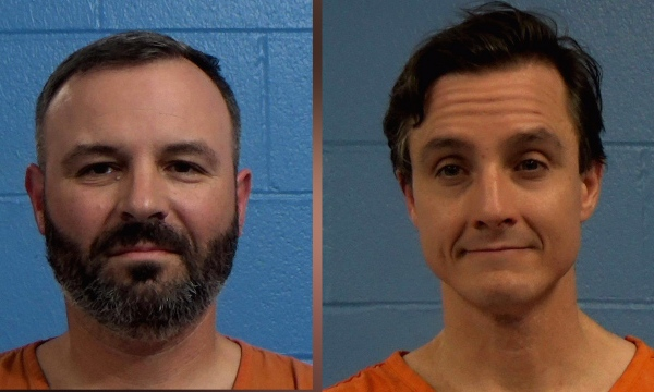 Two men arrested in connection to RRISD board meeting