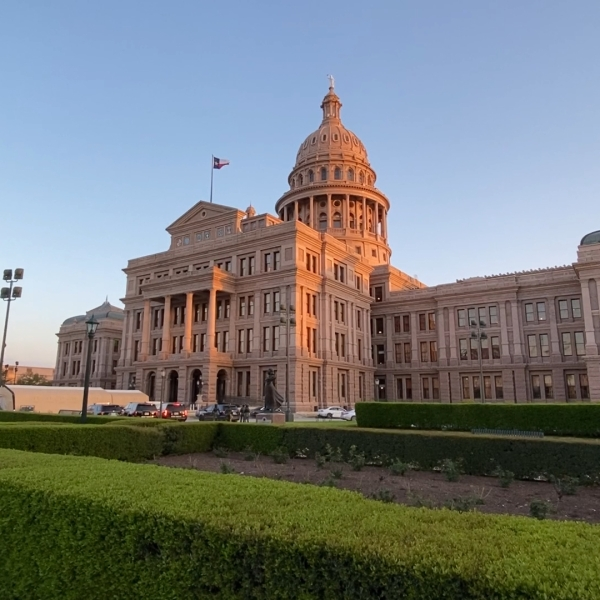 Photo of Texas Capitol building