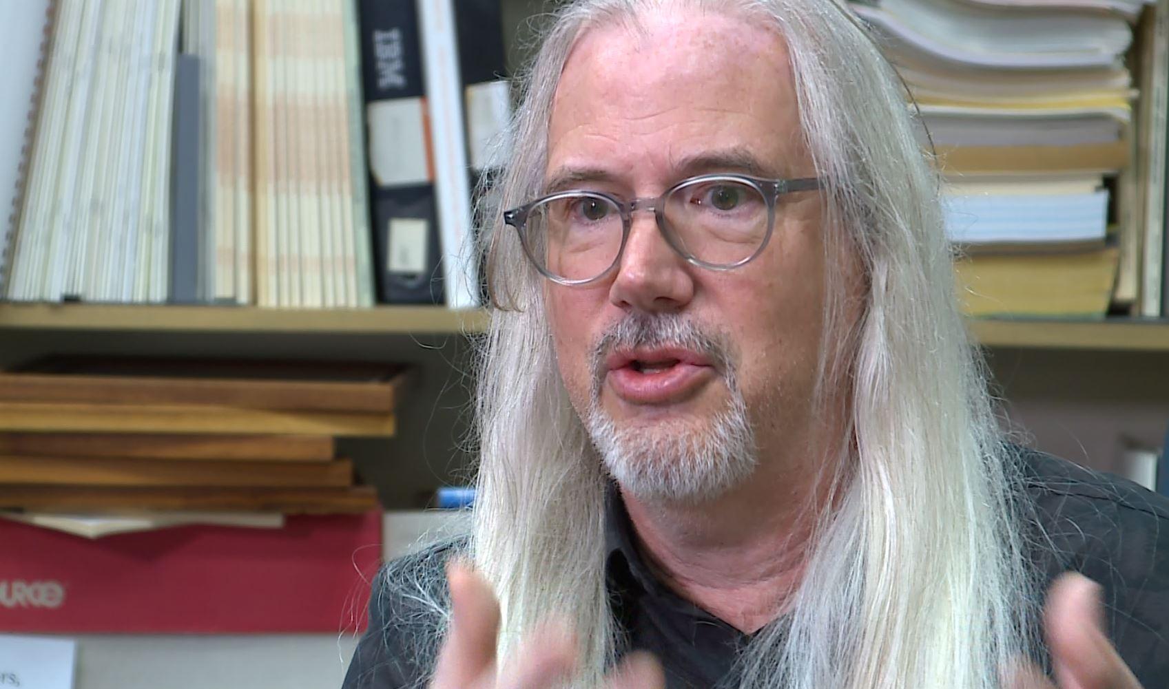 UT Professor and Civil Engineer Ben Hodges. (KXAN Photo/Chris Nelson)