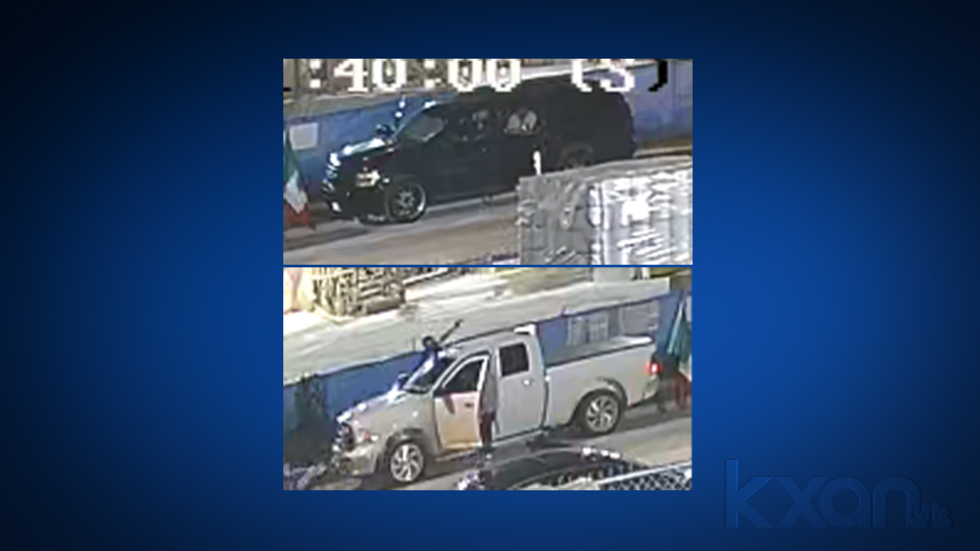 Vehicles associated with person of interest in June 13 drive-by shooting in southeast Austin (APD Photos)