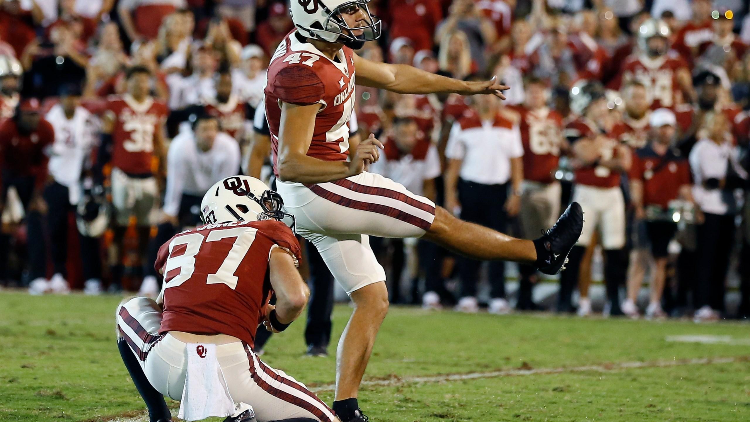 Gabe Brkic, West Virginia Oklahoma Football
