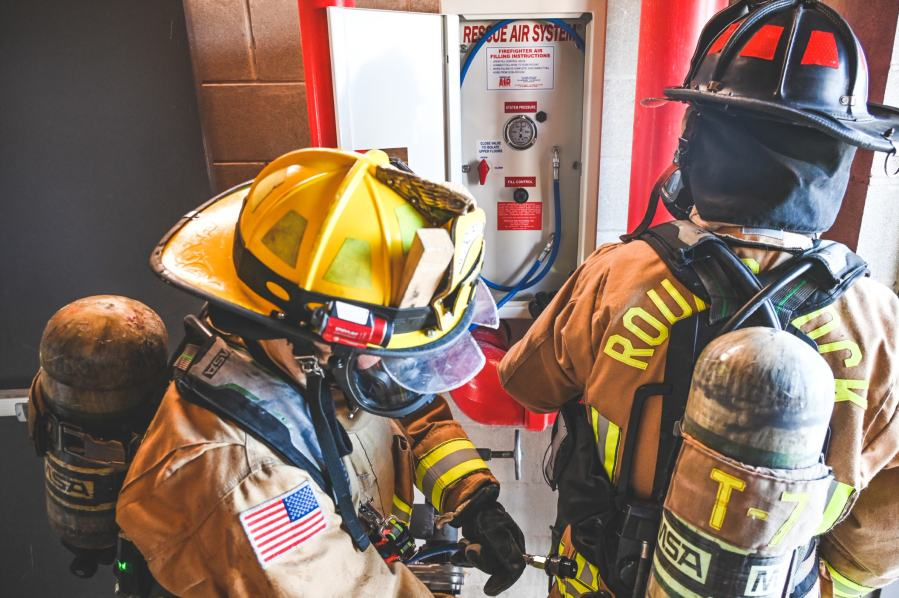 The Round Rock Fire Department debuted new fire equipment. (Courtesy: City of Round Rock)