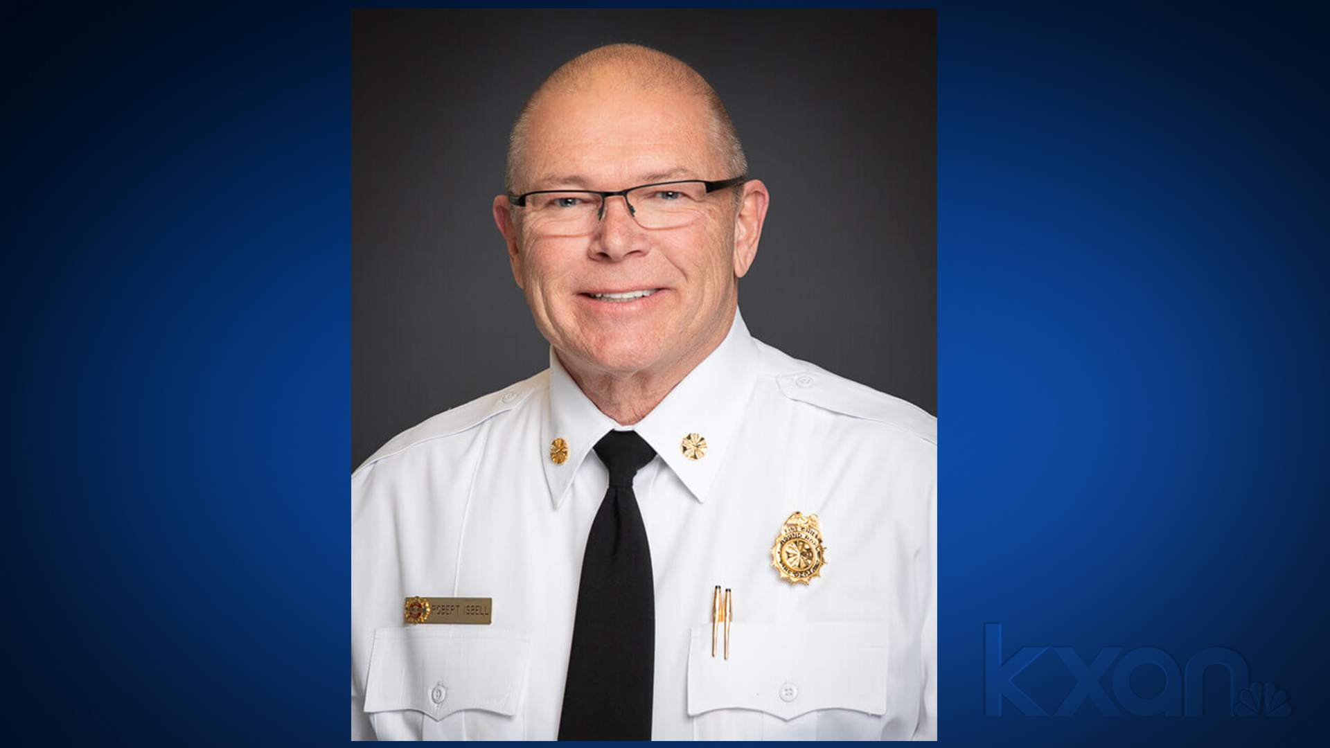 Round Rock Fire Chief Robert Isbell announced his last day with the department will be Oct. 1. (City of Round Rock photo)