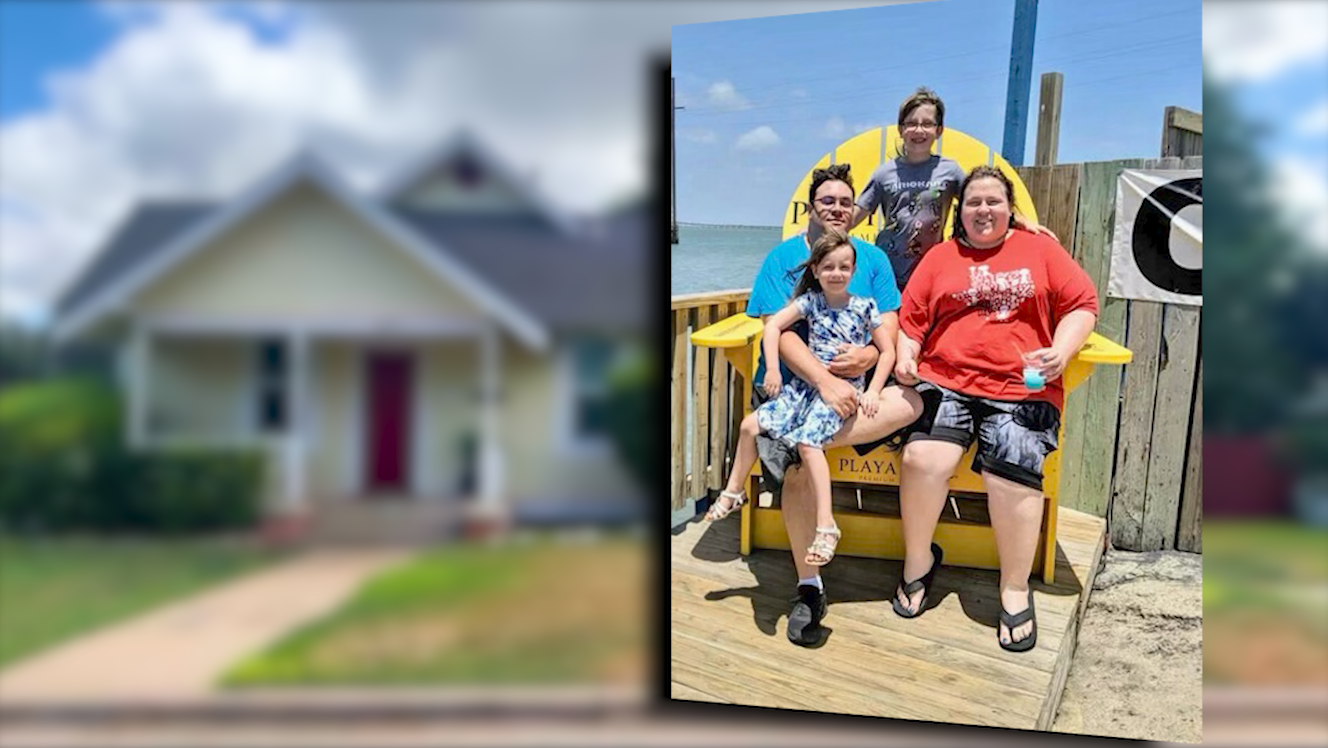 Jason Belk and his family spent months waiting on rental assistance through the statewide program, after he lost his job and they struggled to pay their bills. (Photo provided by: Belk family)