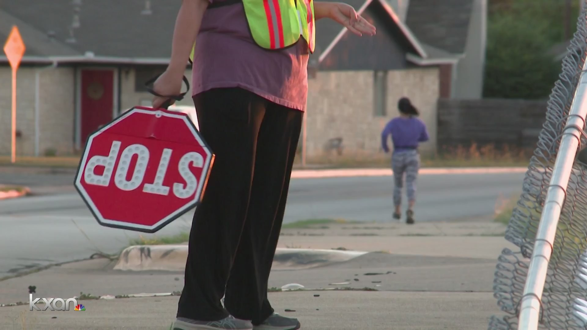 The Round Rock Independent School District needs more crossing guards to help get kids across streets safely. (KXAN photo)