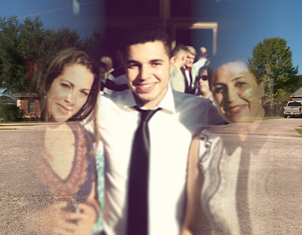 Adil Dghoughi and family