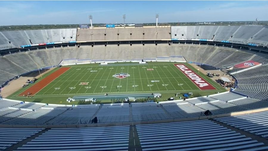 Cotton Bowl - Texas-OU 2021