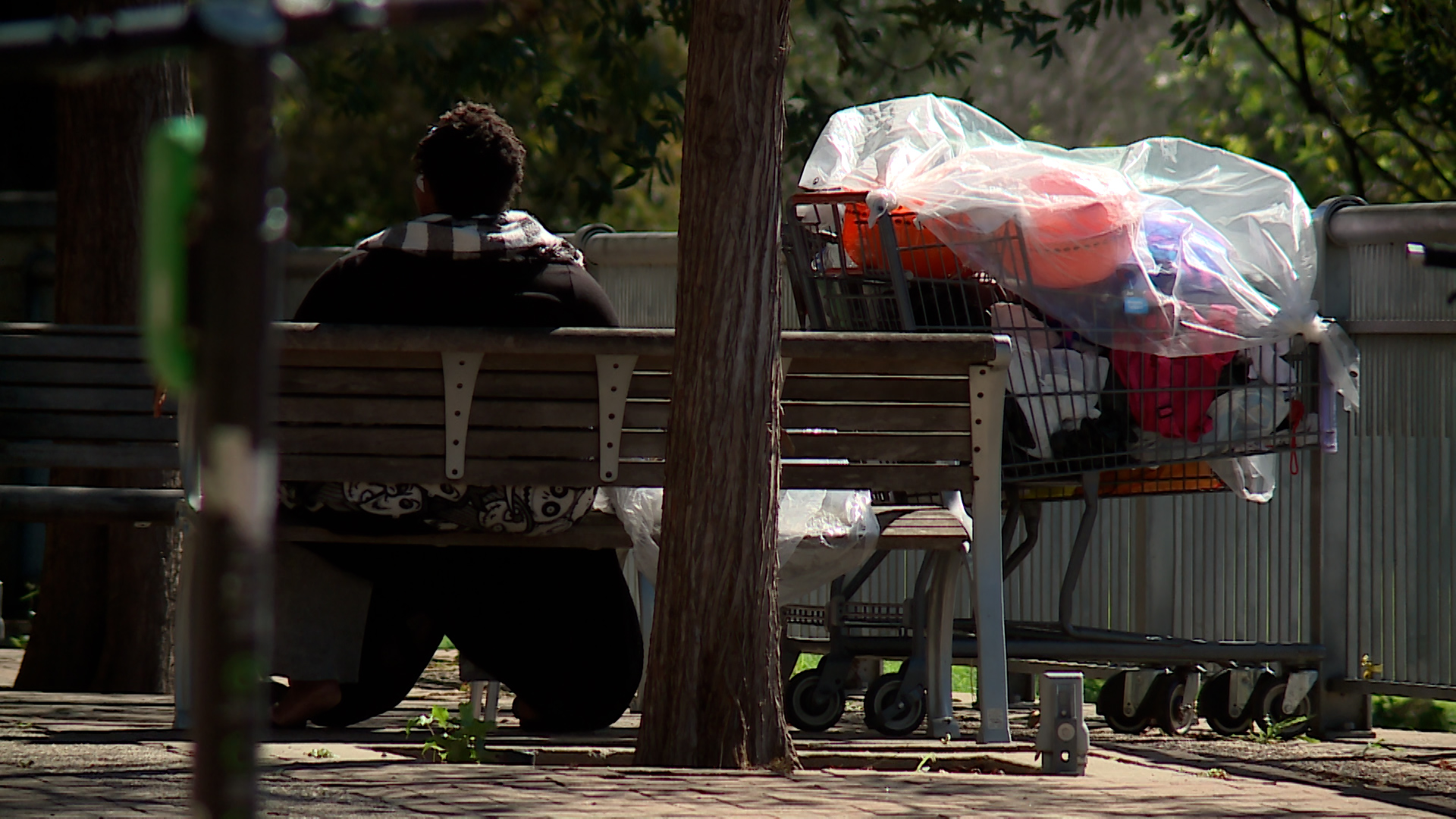 Homelessness in Downtown Austin