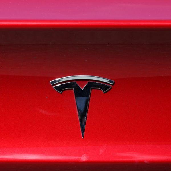 Photo of Tesla emblem