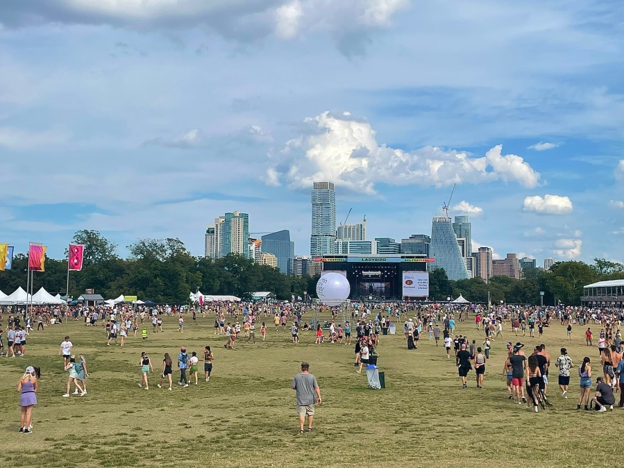 After being cancelled last year due to COVID-19, Austin City Limits Music Festival is officially back in 2021. (KXAN Photo/Kelsey Thompson)