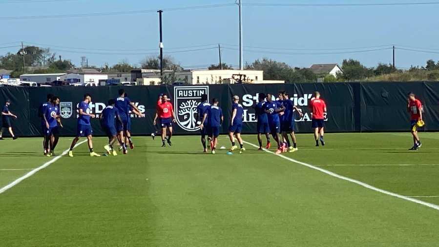 U.S. Men's National Team soccer in Austin