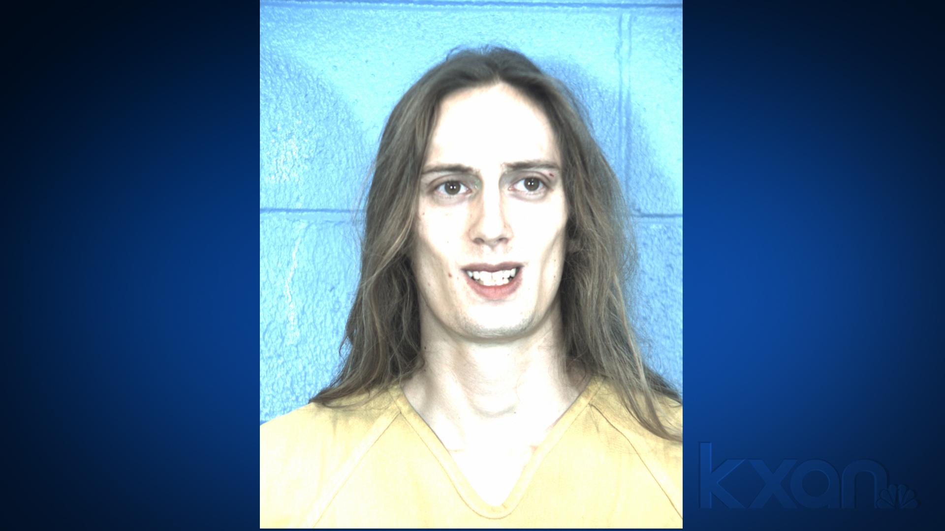 Jesse Vickers (Williamson County Jail photo)