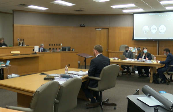 A Williamson County judge heard arguments in the 425th District Court on a lawsuit filed by Attorney General Ken Paxton against Round Rock ISD over its mask mandate. (KXAN Photo)