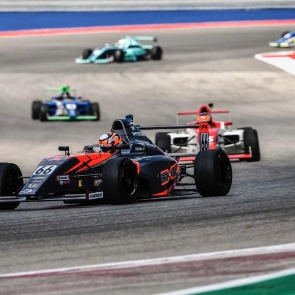 Ryan Shehan races F4