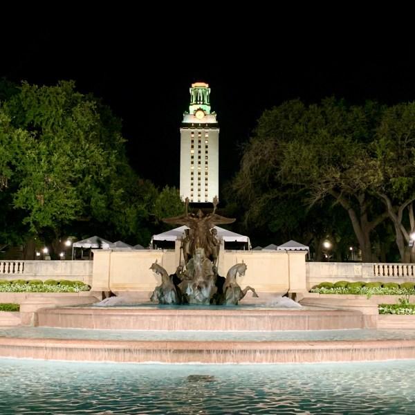 Photo of the UT Austin campus