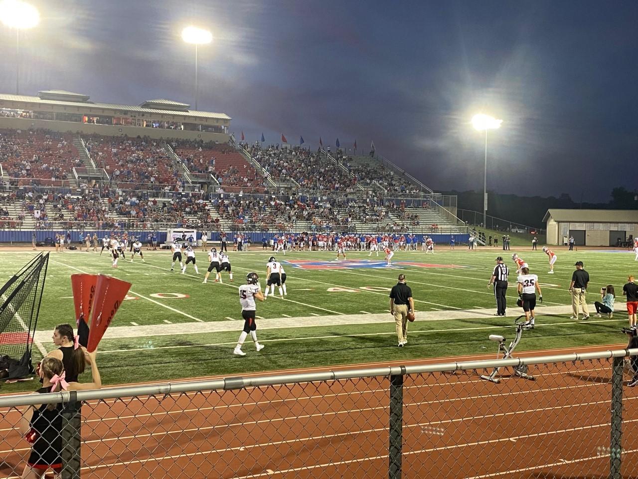 Westlake football vs. Bowie kickoff 2021