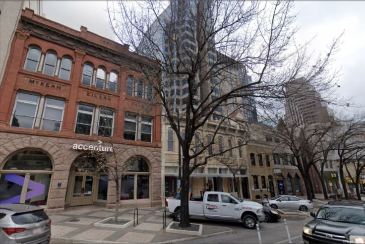 The Congress Commons buildings (Austin Business Journal via Google Street View)