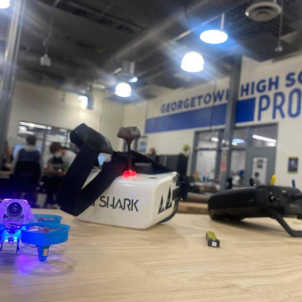 Georgetown High School Eagle Innovation Center KXAN/Kaitlyn Karmout