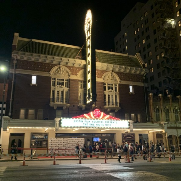 As stars, writers and fans gathered in downtown Austin under the lights of the Paramount Theater for the annual Film Festival, this year's event held some shock and sadness, in addition to the usual excitement. (KXAN Photo/Avery Travis)
